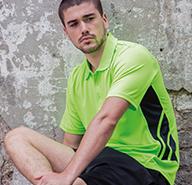 Men's Contrast Polo Shirts