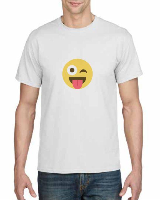 Emoji Printed T-shirts