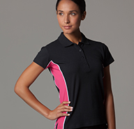 Women's Contrast Polo Shirts