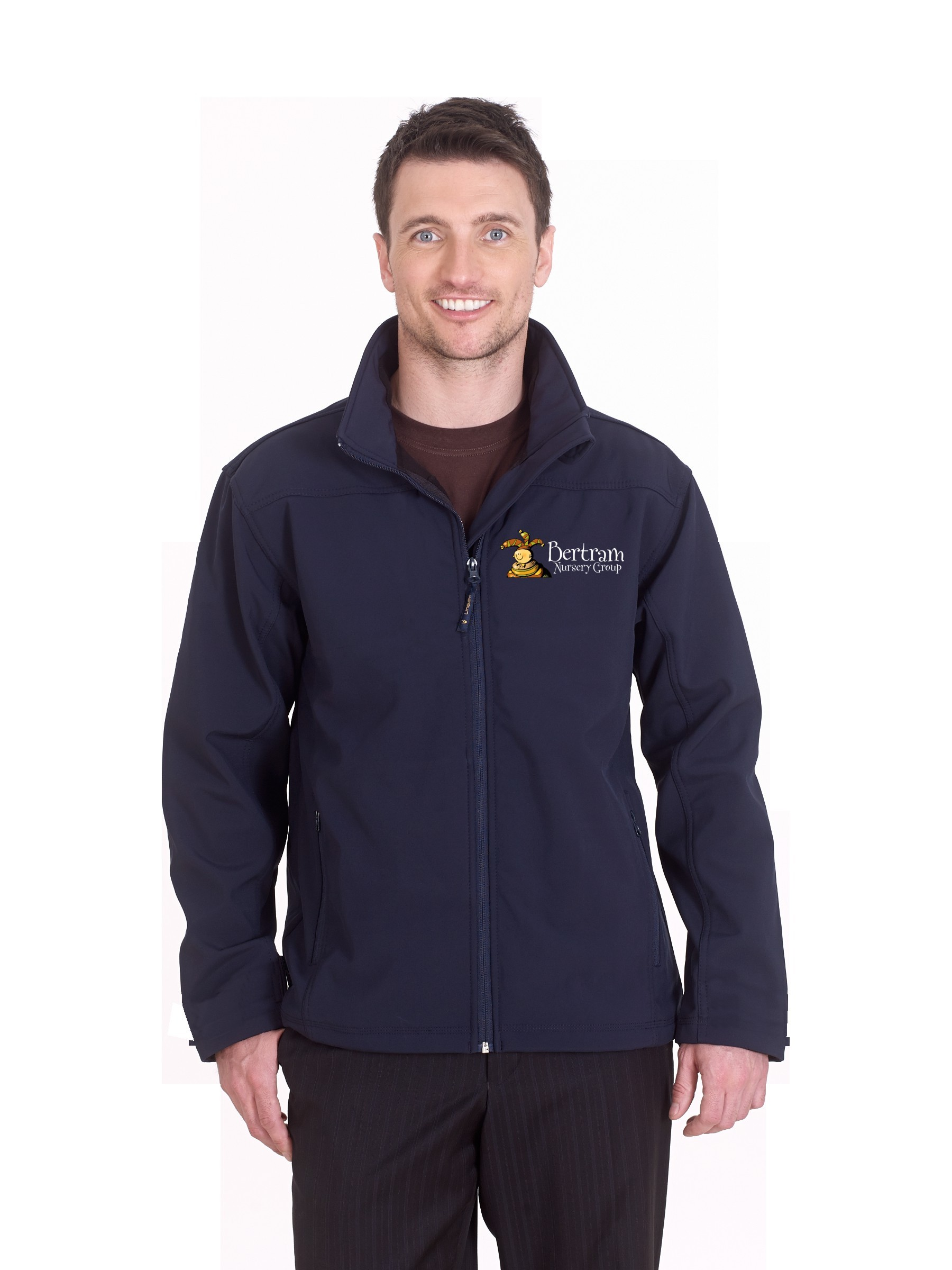 Bertram UK Classic Full Zip Soft Shell Jacket
