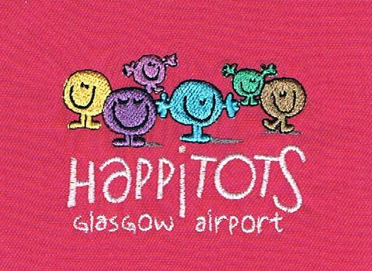Happitots Glasgow Airport Ladies Polo Shirt