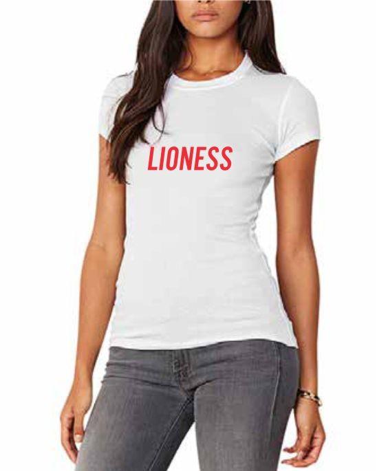 Lioness print t-shirt