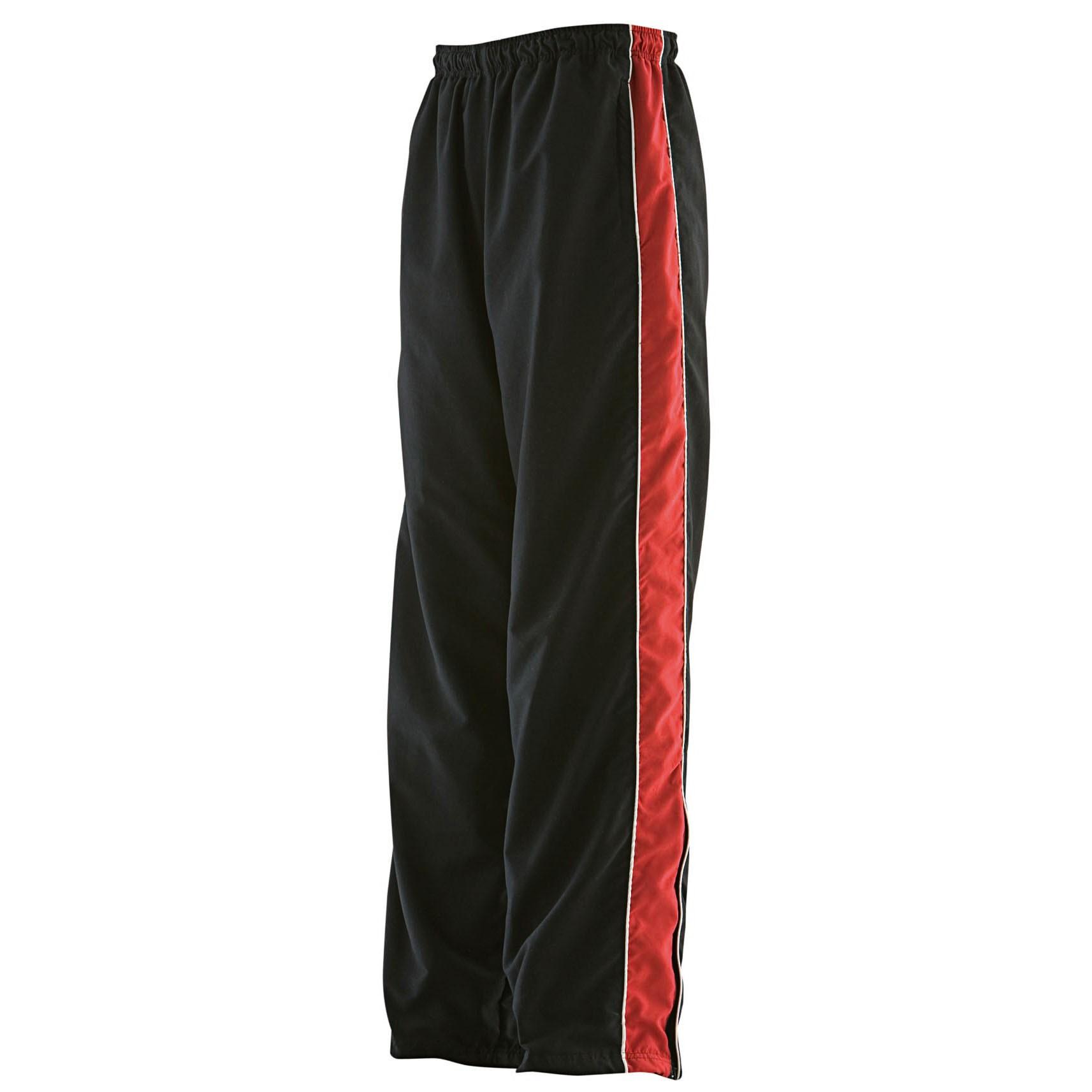 Kids Teamwear Track Pant Black / Red / White