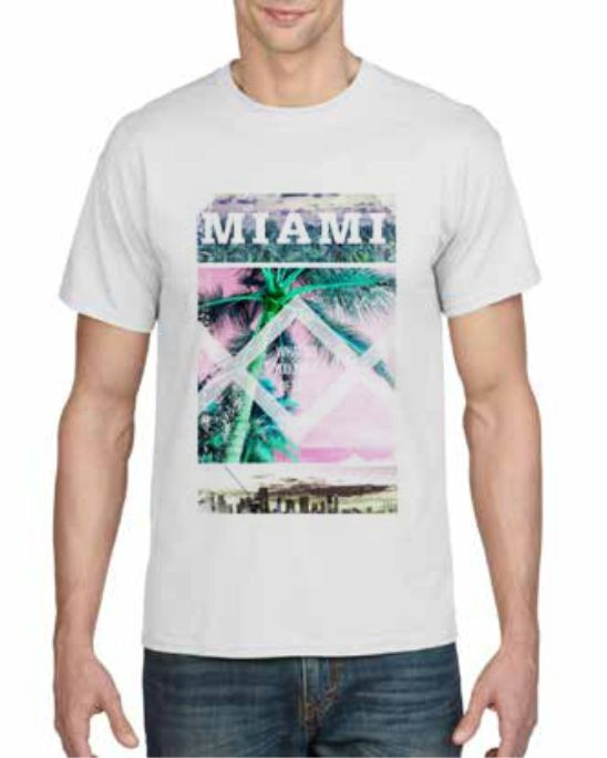 Miami printed T-shirt