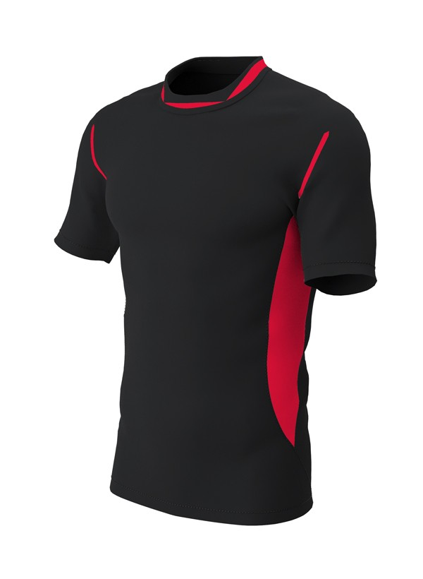 Pro Micro Technical Training T-Shirt Black/Red
