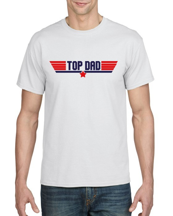 Top Dad Printed T-shirt