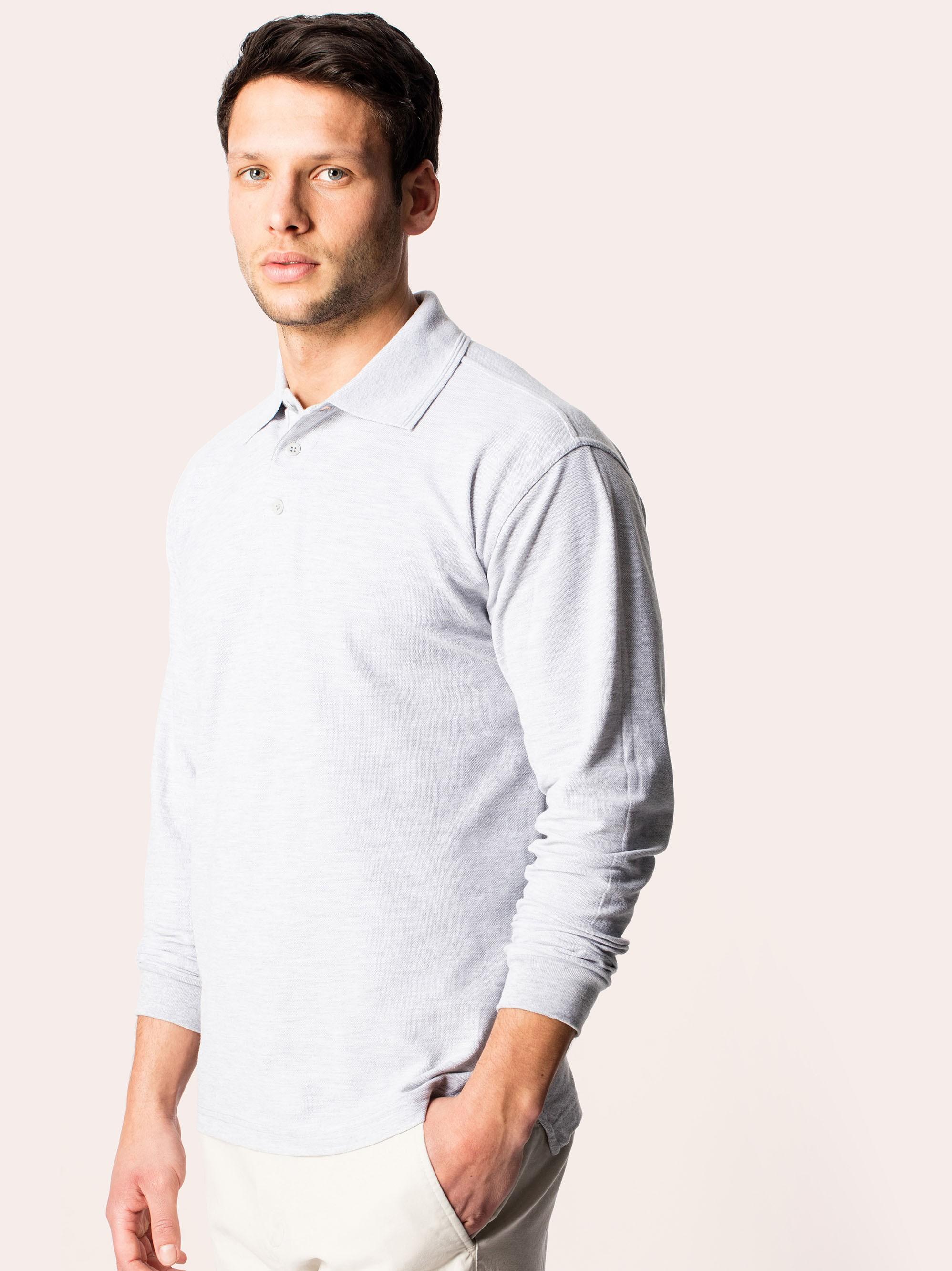 Uneek Classic Long Sleeve Polo Shirt