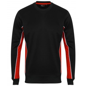 Contrast Polyester Sports and Teamwear Sweatshirt