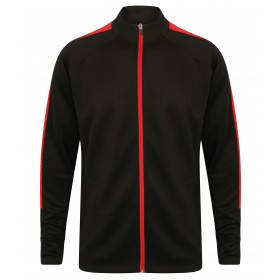 Full Zip Knitted Teamwear Tracksuit Top