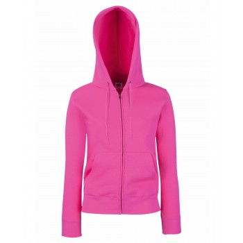Fruit Of The Loom Lady-Fit Premium Hooded Sweat Jacket