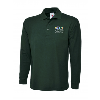 Forest School Long Sleeve Polo Shirt