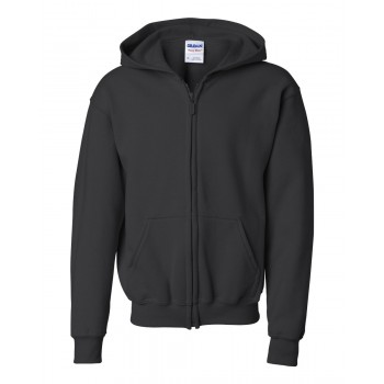 Gildan Childrens Full Zip Hooded Sweatshirt