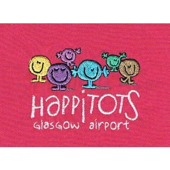 Happitots Glasgow Airport Ladies Polo Shirt