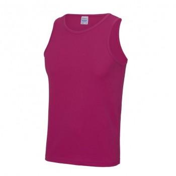 Hot Pink awdis cool sports vest