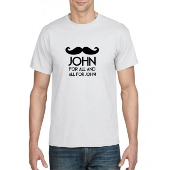 John for all and all for John T-shirt