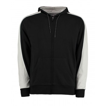 Clubman Hooded Top Black/Grey/White