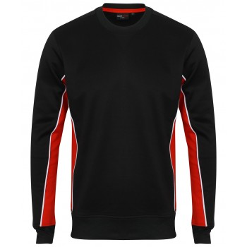 Teamwear Sweatshirt Black / Red / White