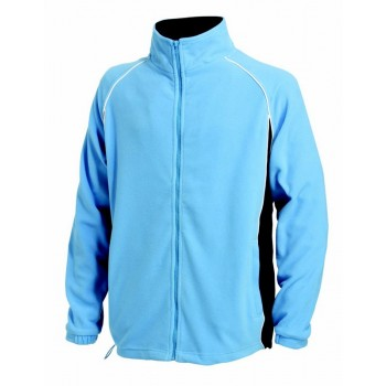 Mens Piped Microfleece