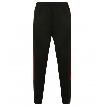 Kids Knitted Track Pant Black / Red