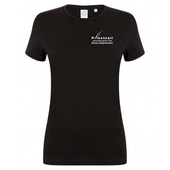 Priestnall Dance Dept Womens Stretch Crew Neck T-shirt
