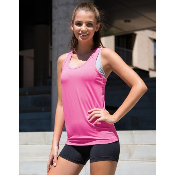 S281F Womens Spiro Impact Softex Fitness Top