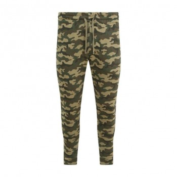Green Camo tappered jogger