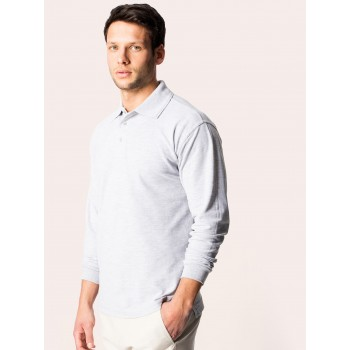 Uneek Classic Long Sleeve Polo Shirt