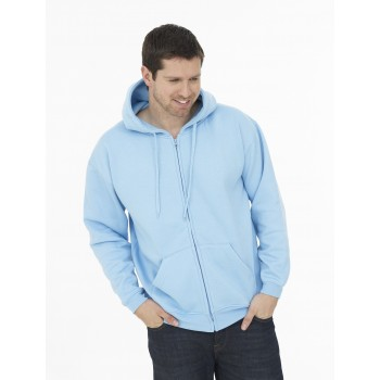 Adults' Classic Full Zip Hooded Sweatshirt