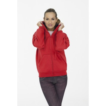 Women's Classic Full Zip Hooded Sweatshirt