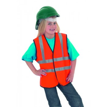 Bertram UK Child's Hi-Vis Sleeveless Safety Waist Coat