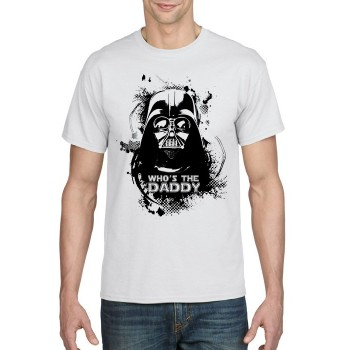Who's the Daddy T-shirt Darth Vader Print