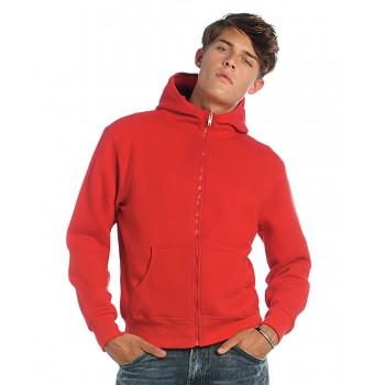 B and C Monster Mens Funnel Neck Hoodie
